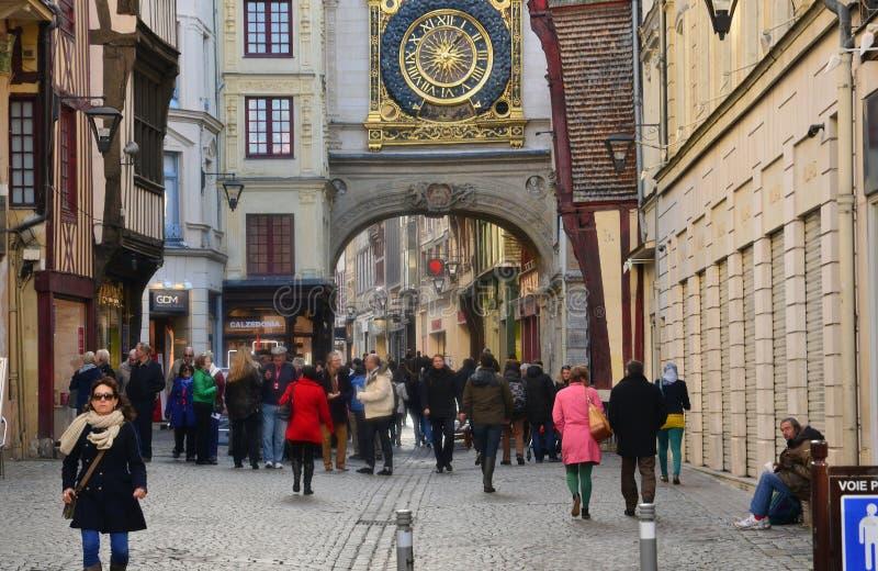 Frances, la ville pittoresque de Rouen dans Normandie photos libres de droits