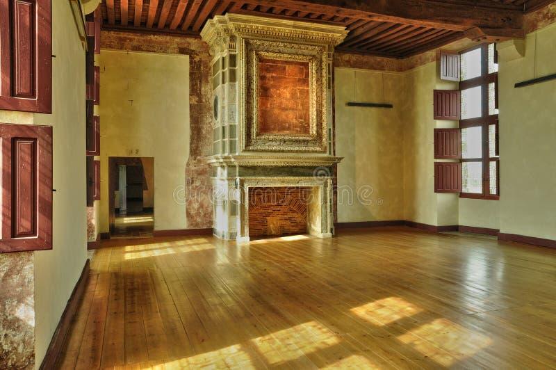 Frances, le château de la Renaissance de Cadillac photos libres de droits