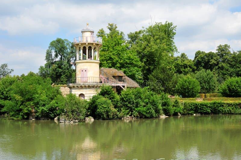 Frances, le domaine de Marie Antoinette dans le parc de la PA de Versailles photos stock