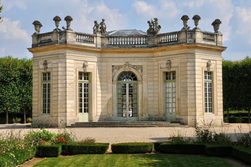 Frances, le pavillon français en Marie Antoinette Estate images stock