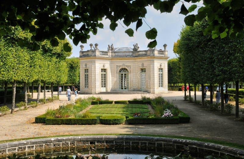 Frances, le pavillon français en Marie Antoinette Estate photo libre de droits