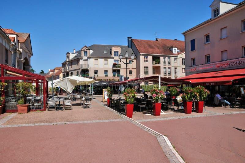 Frances, le village de Cergy en Val d l'Oise photographie stock
