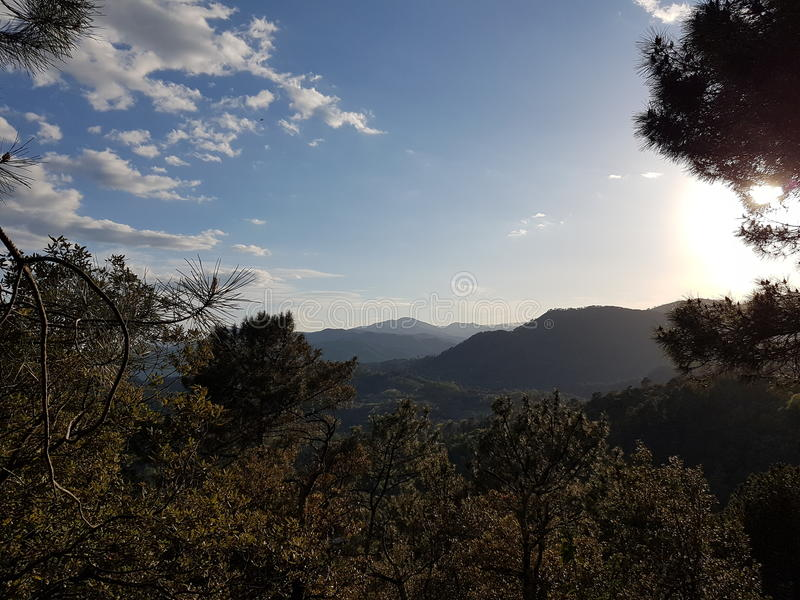 Frances Mountains image stock