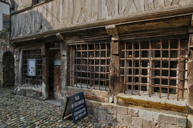 Frances, musée de vieux Honfleur en Normandie images stock