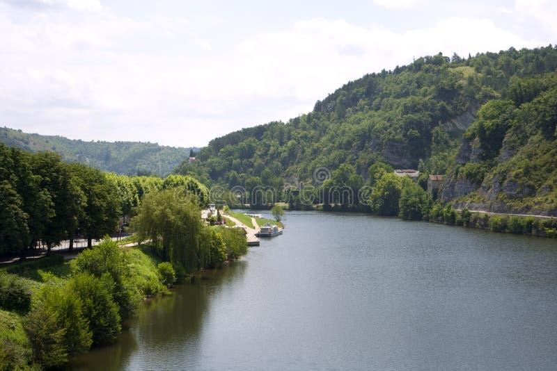 Frances scéniques - le sort de rivière photographie stock libre de droits