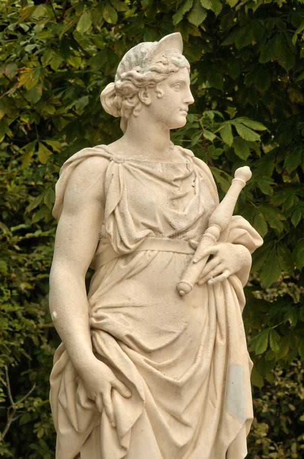 Frances, statue de marbre en parc de palais de Versailles images stock