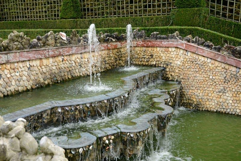 Frances, verger de trois fontaines en parc de palais de Versailles photo libre de droits
