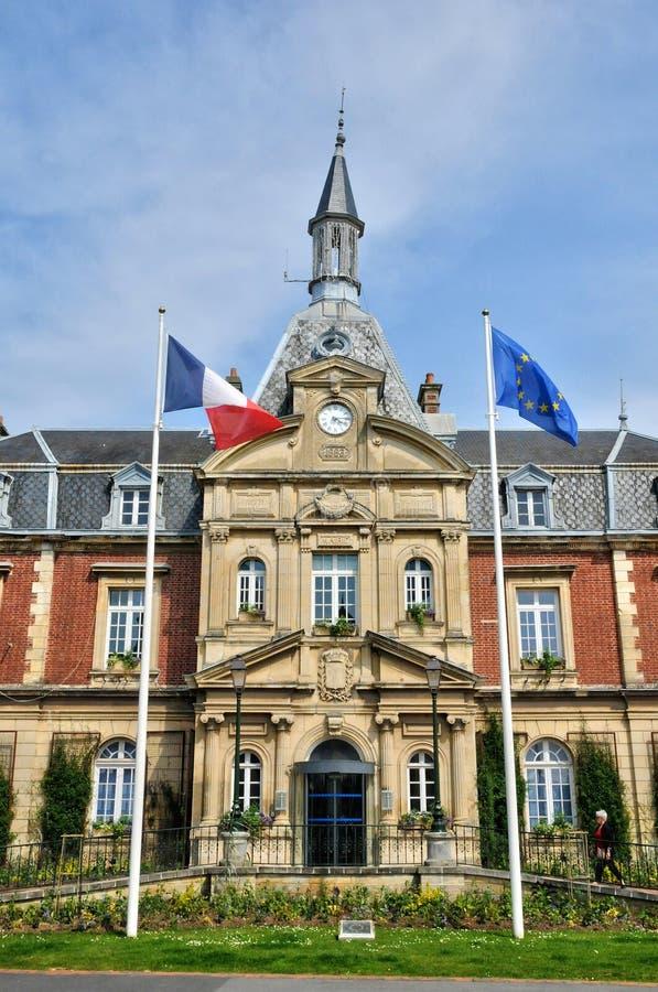 Frances, ville de Cabourg en Normandie image stock
