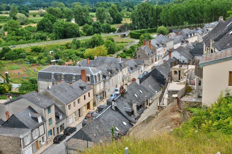 Frances, ville de Terrasson Lavilledieu dans Dordogne images libres de droits