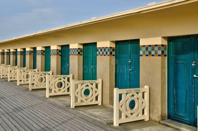 Frances, ville pittoresque de Deauville dans Normandie photographie stock libre de droits