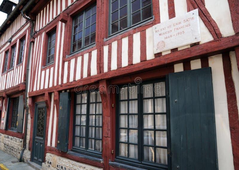 Frances, ville pittoresque de Honfleur photo libre de droits
