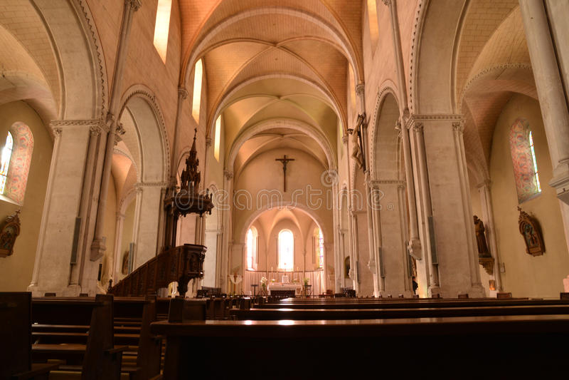 Frances, ville pittoresque de Sancerre dans Cher images stock