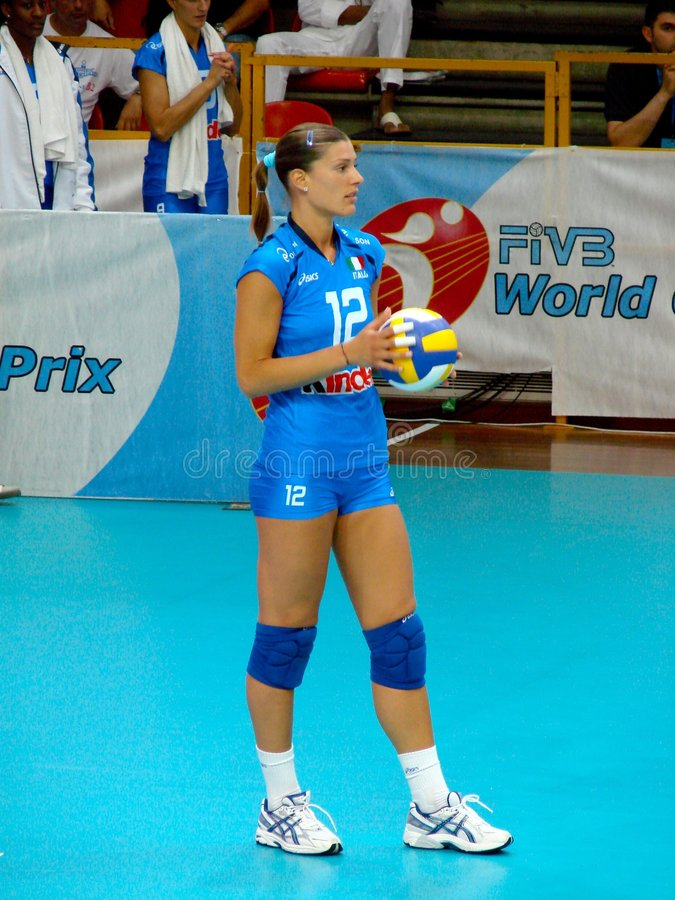 Have Volleyball player francesca piccinini phrase