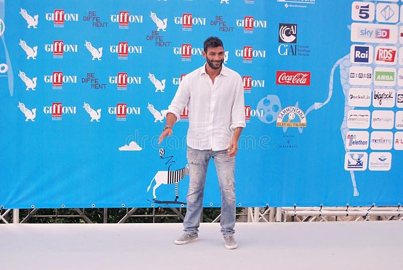 Francesco Arca al Giffoni Film Festival 2014 fotografie stock libere da diritti