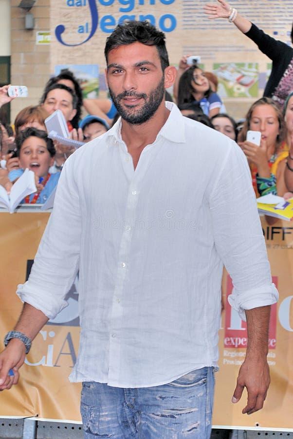 Francesco Arca al Giffoni Film Festival 2014 fotografie stock