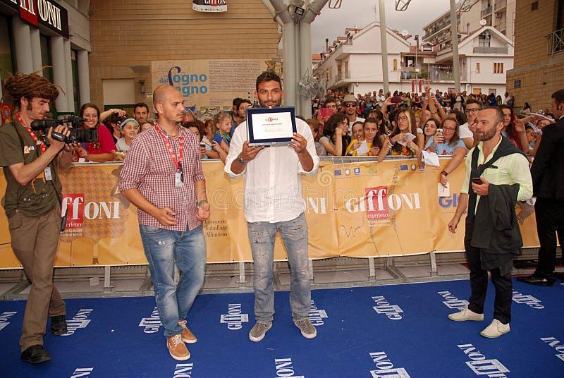 Francesco Arca al Giffoni Film Festival 2014 immagine stock