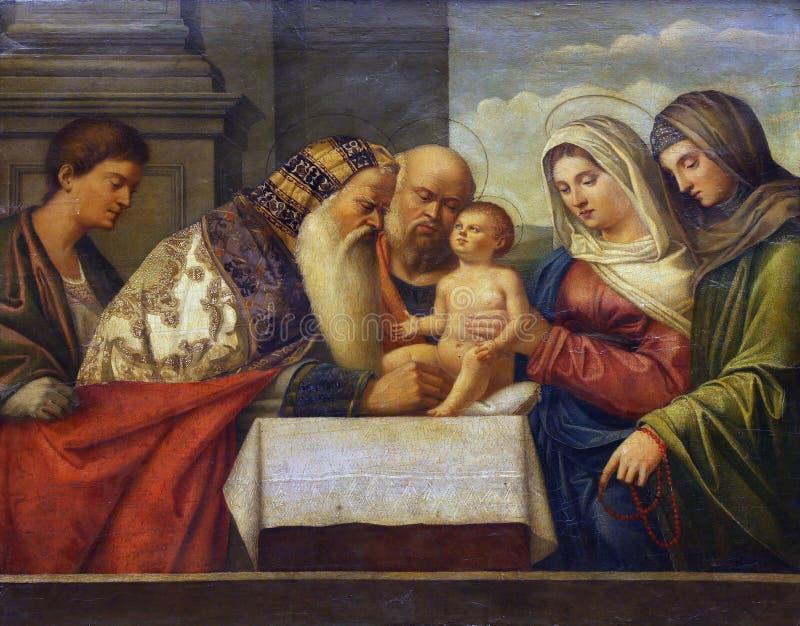 Francesco Bissola: Circuncisión de Cristo fotografía de archivo libre de regalías
