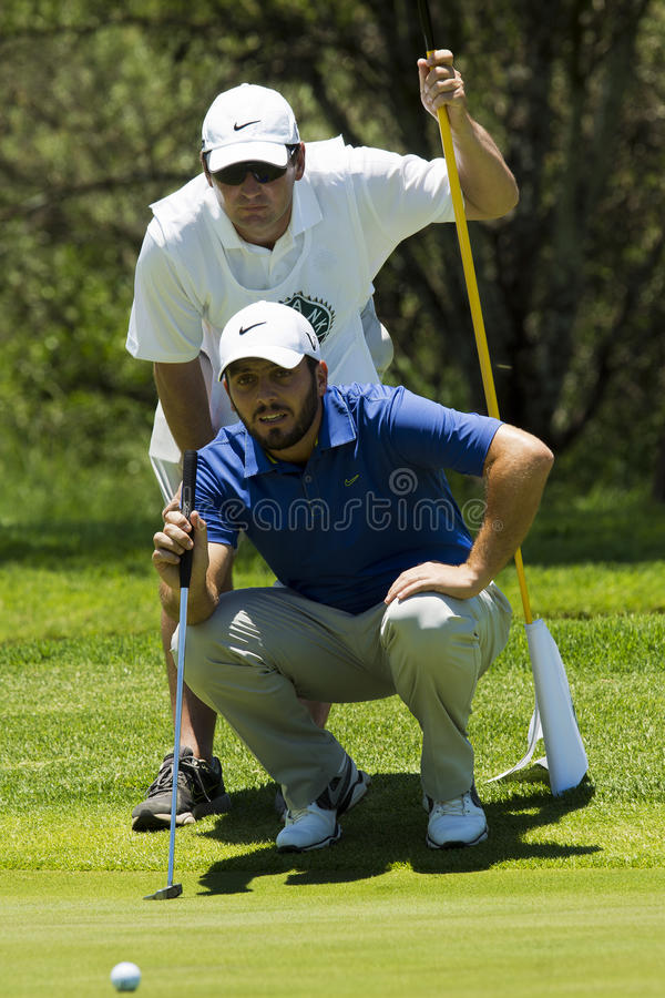 Download Francesco Molinari editorial photography. Image of putting - 27952902