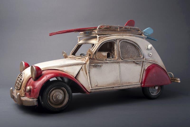Francese anziano Toy Car fotografia stock libera da diritti