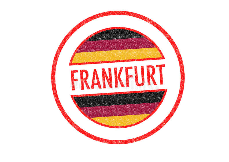 francfort stock de ilustración