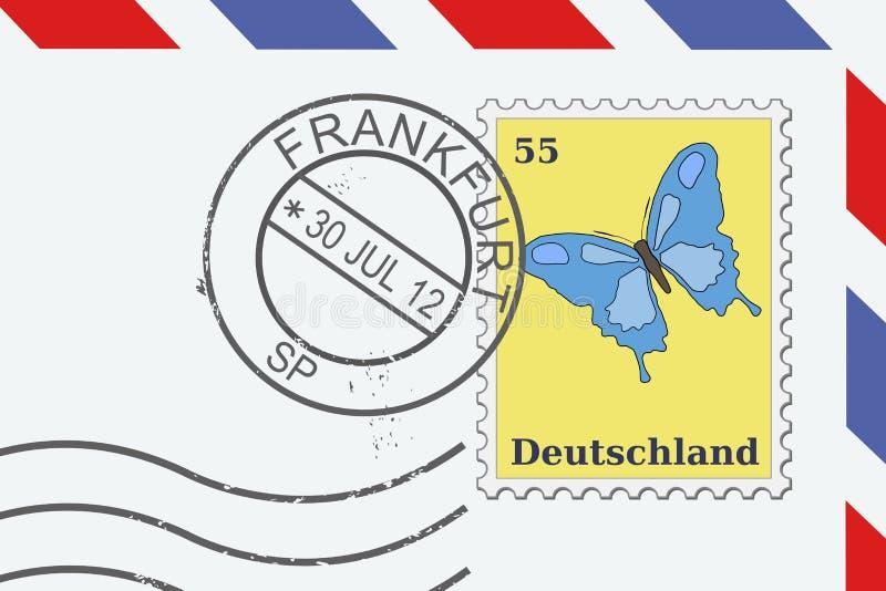 Francfort, Alemania libre illustration