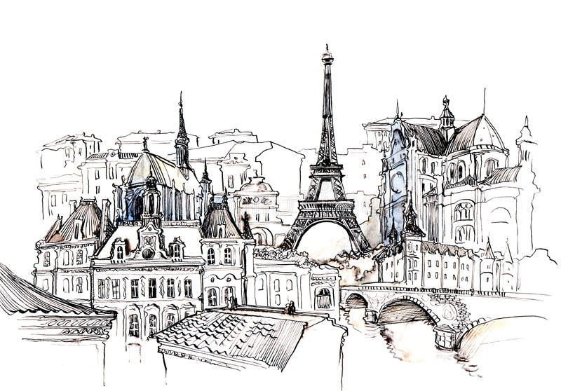 Francia ilustración del vector