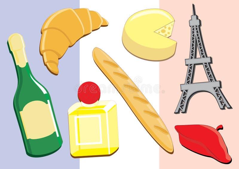 Francia stock de ilustración
