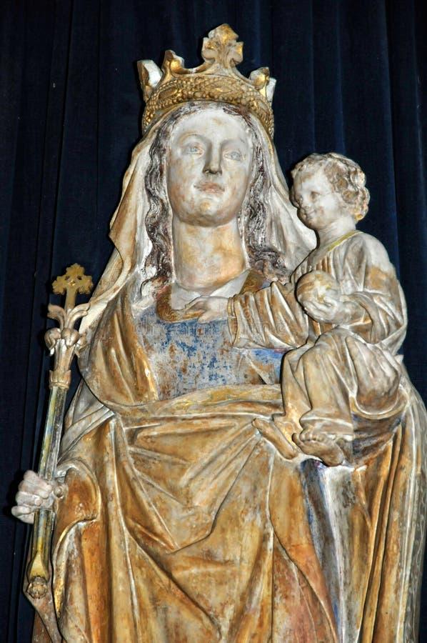 Francia, abadía de Cadouin en Dordoña imagenes de archivo