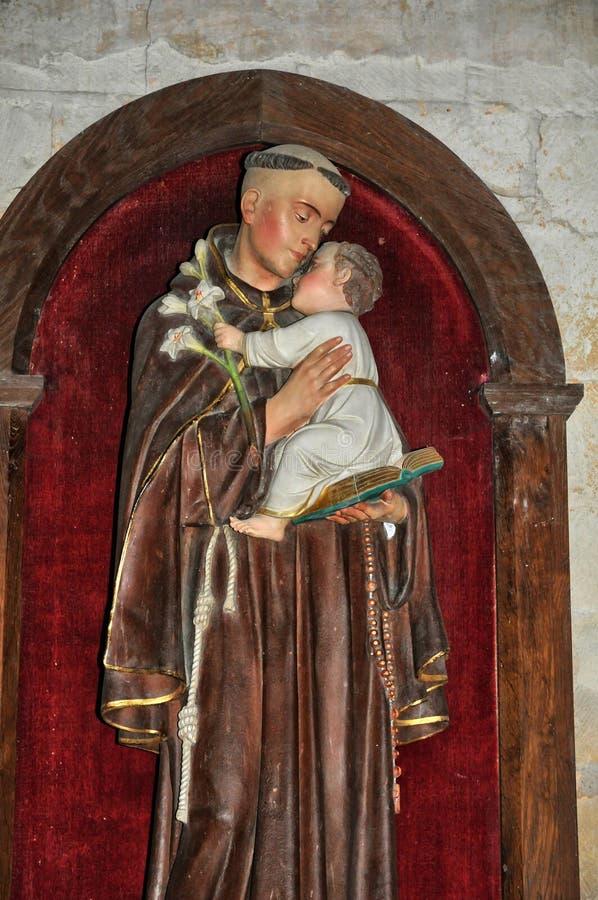 Francia, abadía de Cadouin en Dordoña foto de archivo libre de regalías