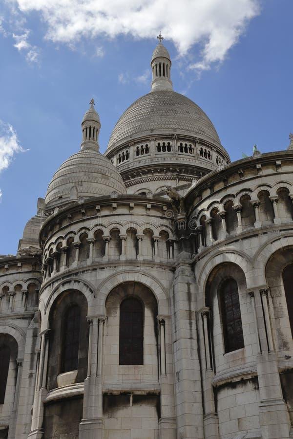 FRANCIA - agosto de 2015 - basílica del corazón sagrado (Sacre-Coeur), 1873-1914, diseñado por Paul Abadie (1812-1884), París (la imagen de archivo libre de regalías