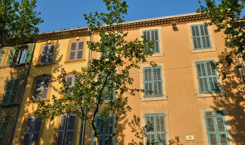 Francia, Bouche du Rhone, ciudad de Salon de Provence fotos de archivo