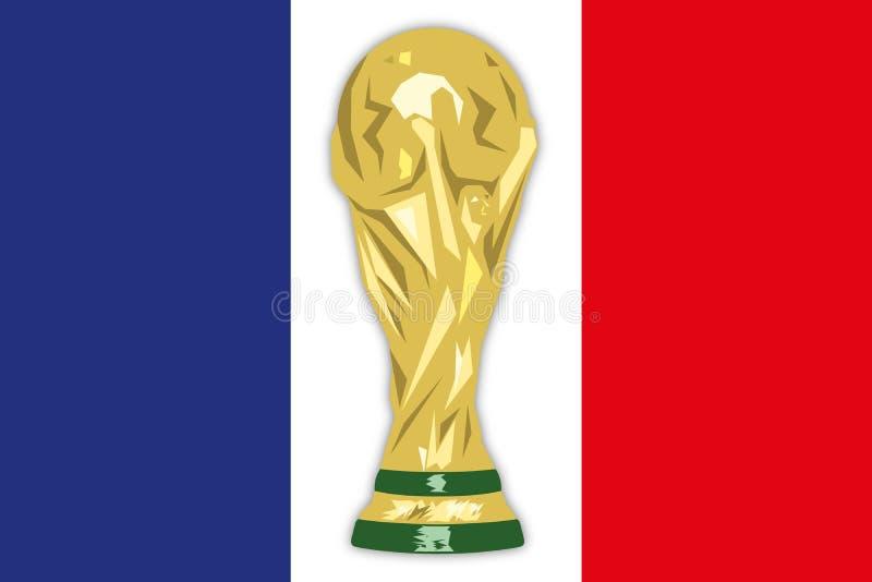 Francia, campeón del mundo del finalista, Rusia 2018, semi finales libre illustration
