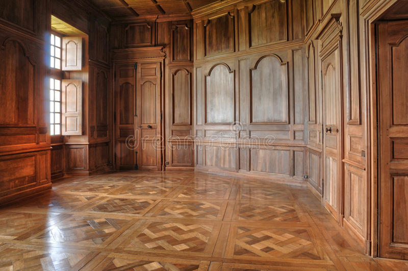 Francia, castillo pintoresco de Biron en Dordoña imágenes de archivo libres de regalías