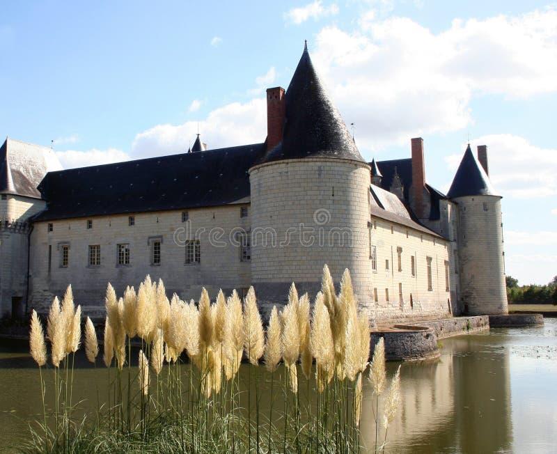 Francia Château Plessis-Bourre foto de archivo