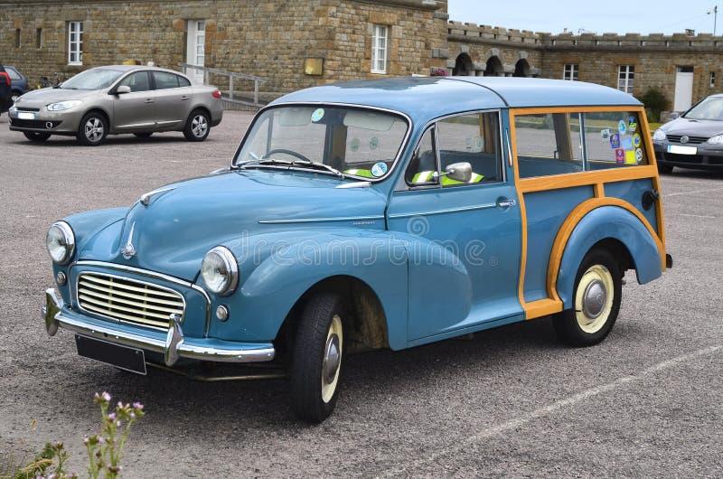 Francia, coche del vintage fotografía de archivo libre de regalías