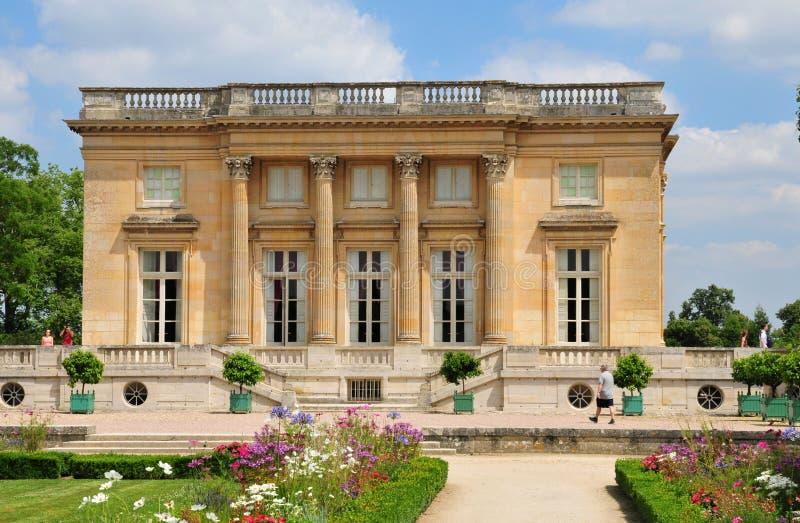 Francia, el estado de Marie Antoinette en el parc del PA de Versalles fotografía de archivo