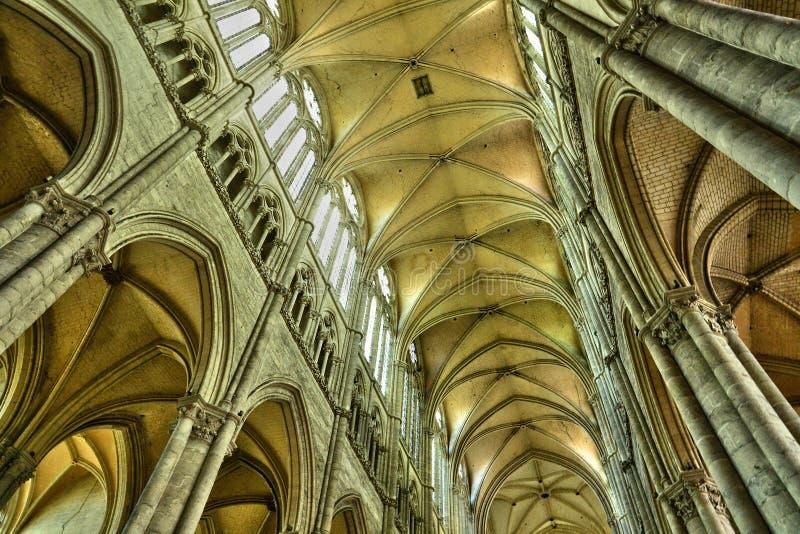 Francia, la ciudad de Amiens en Picardie imágenes de archivo libres de regalías