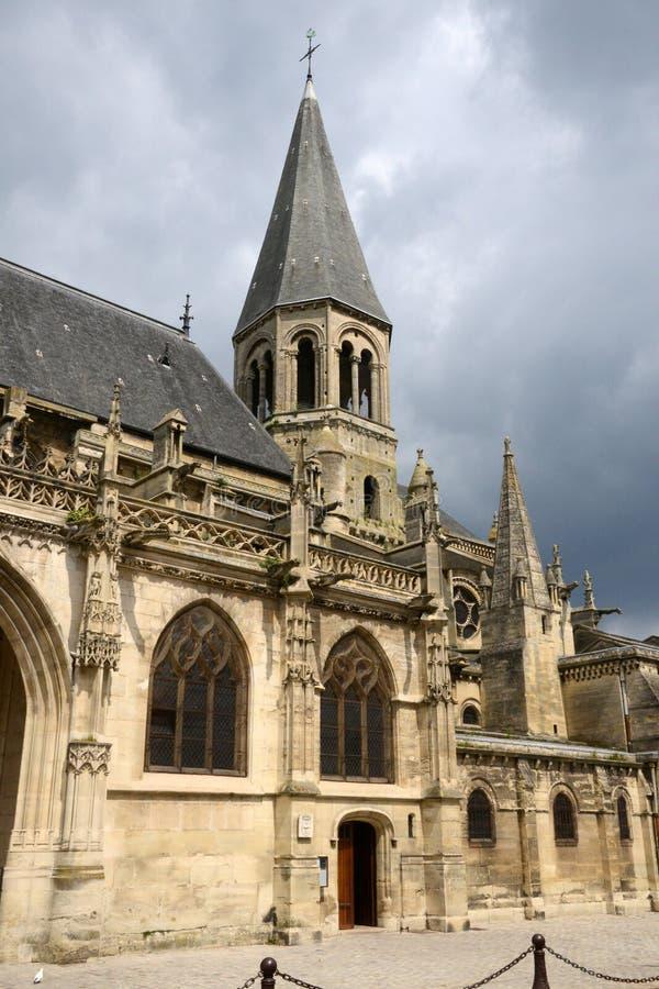 Download Francia, La Ciudad Pintoresca De Poissy Foto de archivo - Imagen de colegial, católico: 44852912