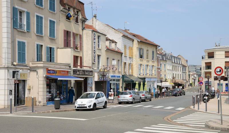 Download Francia, La Ciudad Pintoresca De Poissy Imagen editorial - Imagen de europa, configuración: 44855745