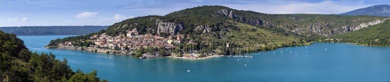 Francia - Provence - Sainte-Croix-du-Verdon imagenes de archivo