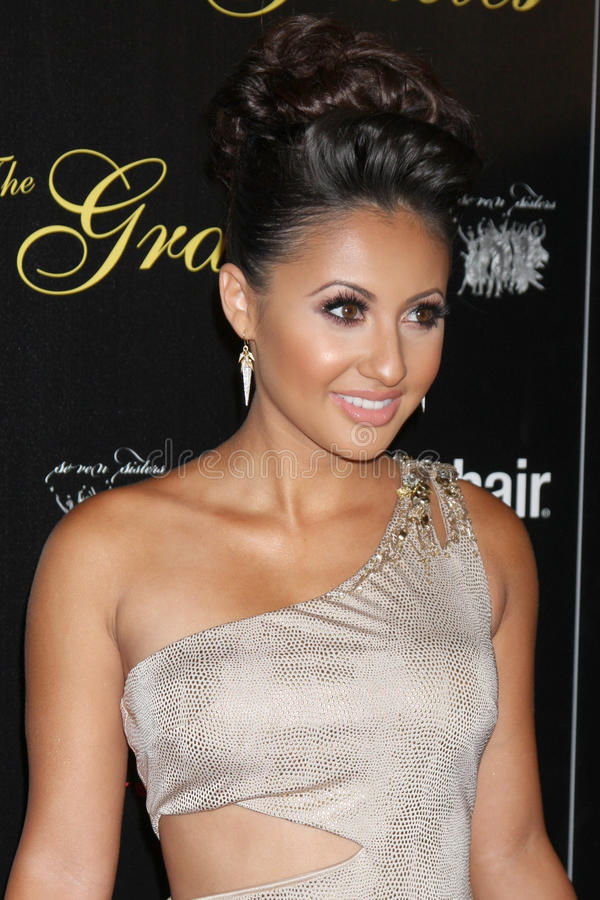 Download Francia Raisa Arrives At The 37th Annual Gracie Awards Gala Editorial Image - Image of hilton, awards: 25274755