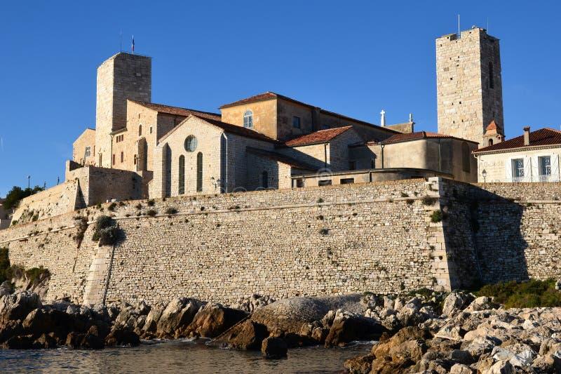 Francia, riviers franceses, Antibes, ciudad vieja, museo fotos de archivo