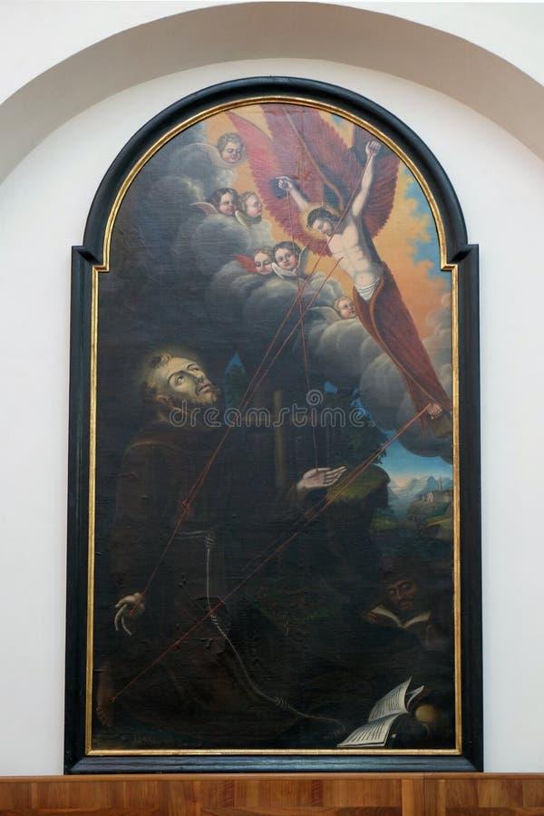 Francis Άγιος στοκ εικόνες