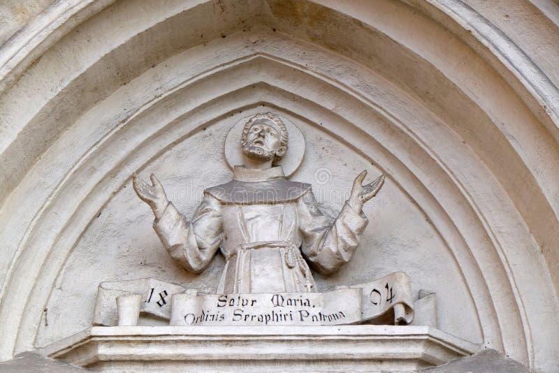 Francis Άγιος στοκ φωτογραφίες με δικαίωμα ελεύθερης χρήσης