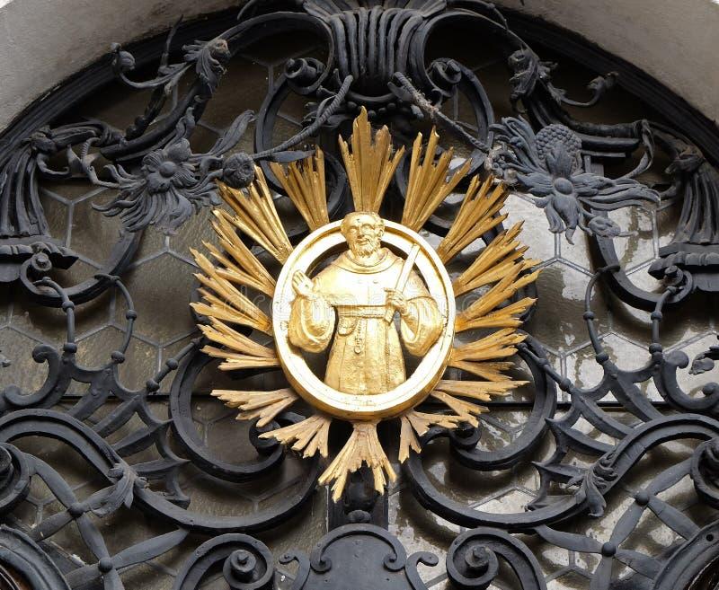 Francis Άγιος στοκ εικόνες με δικαίωμα ελεύθερης χρήσης