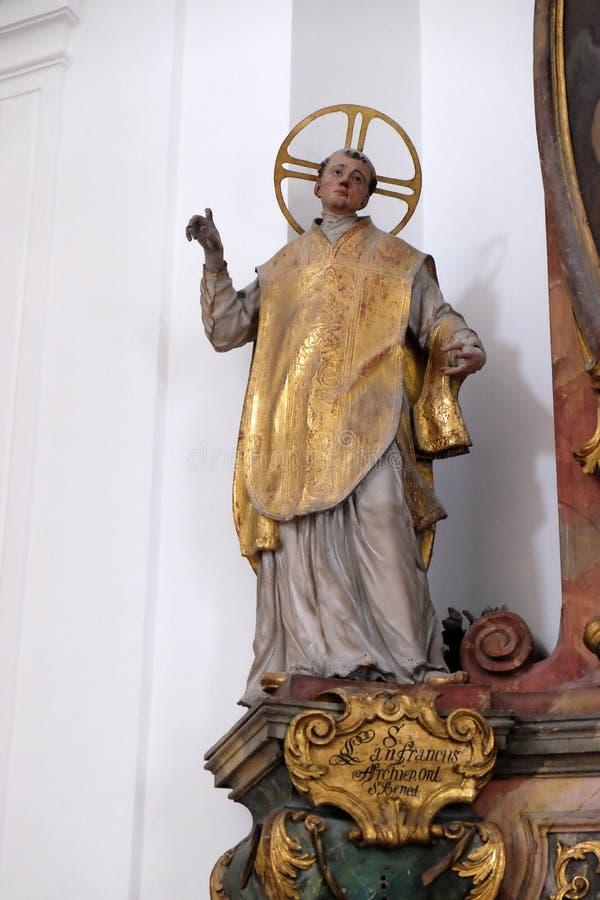 Francis Άγιος στοκ φωτογραφία με δικαίωμα ελεύθερης χρήσης
