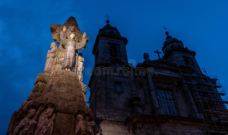 Download Francis of Assisi Statue stock image. Image of statue - 37091749