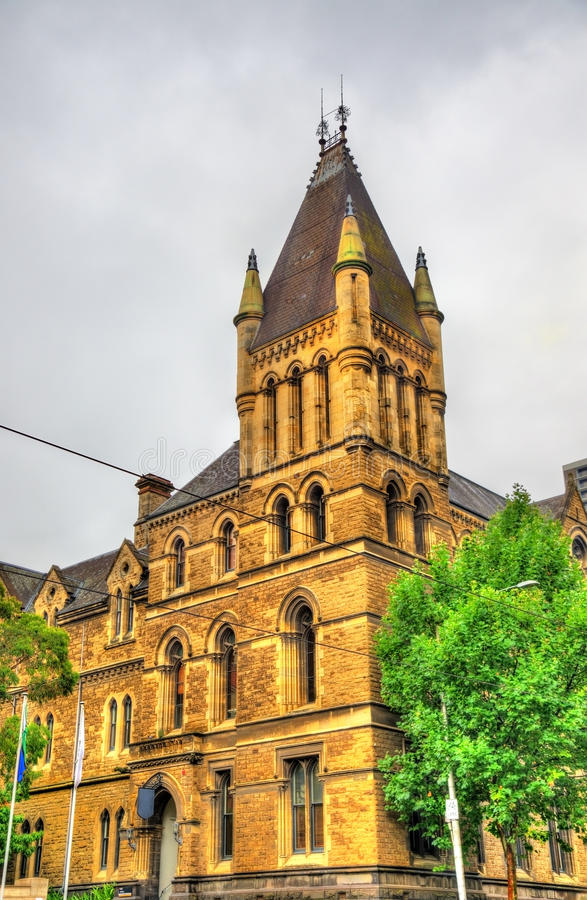 Francis Ormond Building in Melbourne, Australien lizenzfreies stockbild