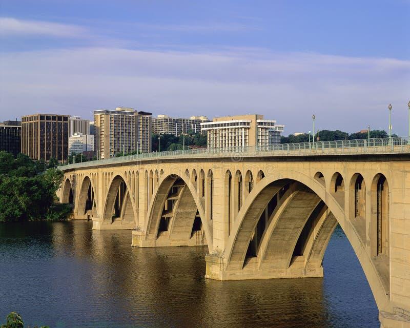 Francis Scott Key Bridge στοκ εικόνα με δικαίωμα ελεύθερης χρήσης