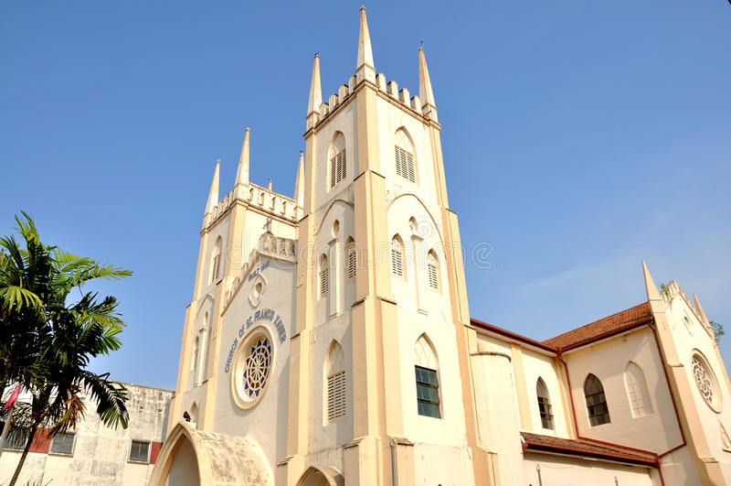 Francis Xavier Church royalty-vrije stock foto